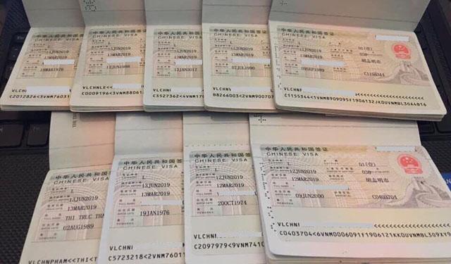 Dịch vụ làm visa Trung Quốc tại TPHCM uy tín