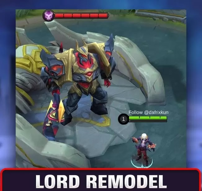 Wujud Remodel Lord Dan Monster Baru Mobile Legends