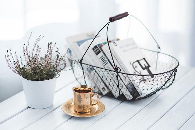 basket of books