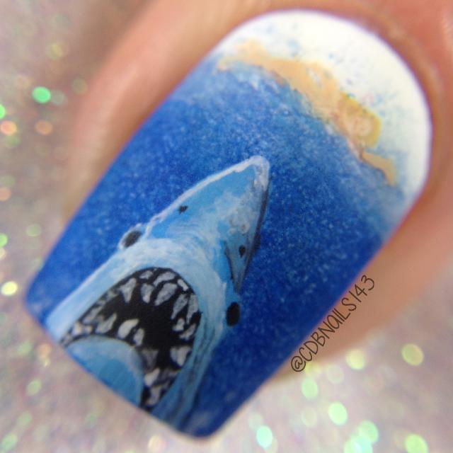CDBNails-Shark nails