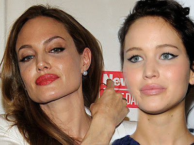 Angelina Jolie odia a Jennifer Lawrence