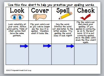 Spelling Strategies  Educational Portfolio