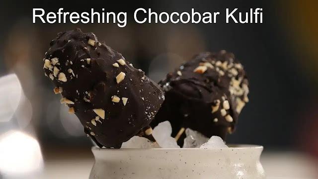 How to make delicious and refreshing Chocobar Kulfi