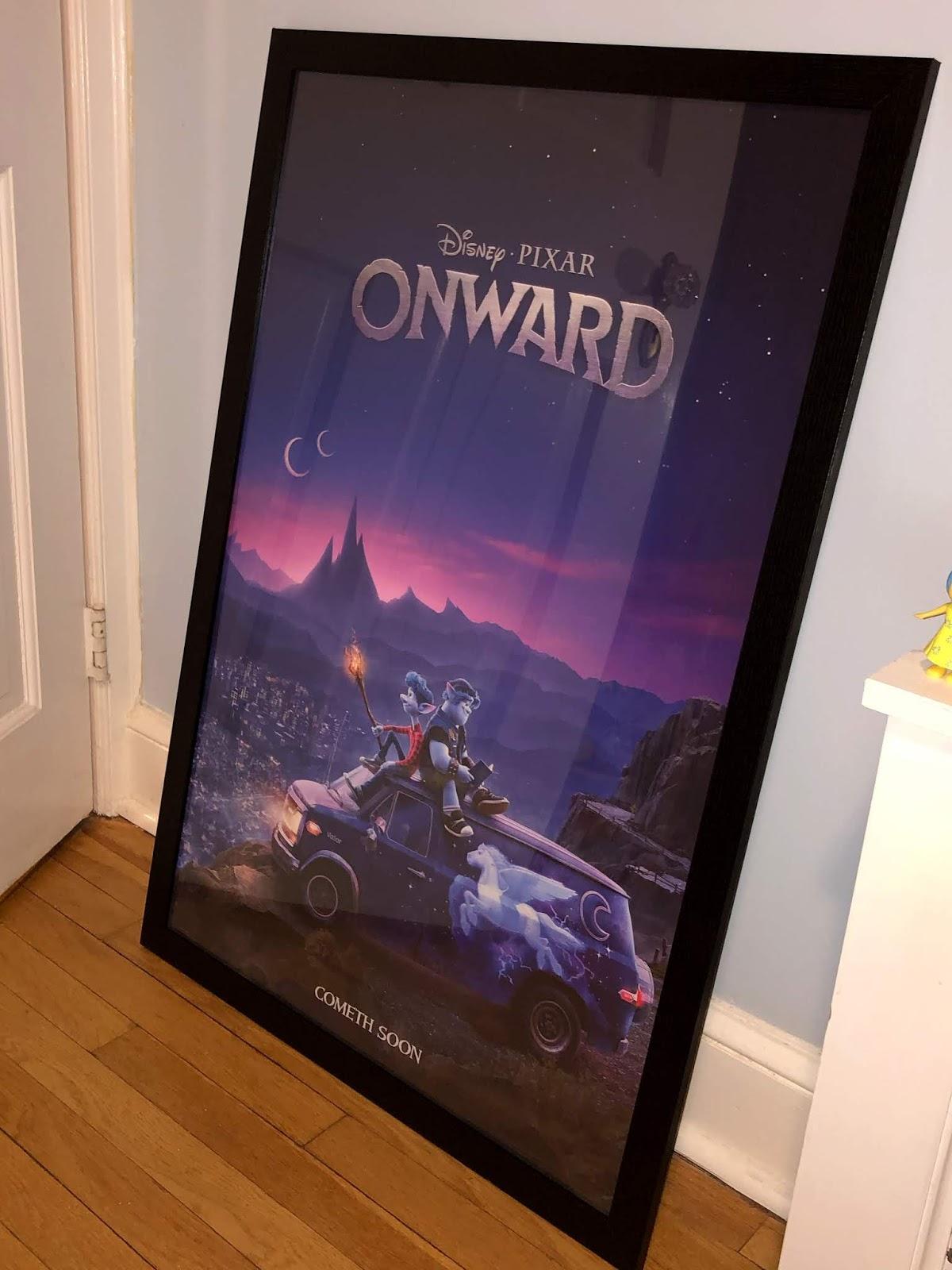 pixar onward teaser poster