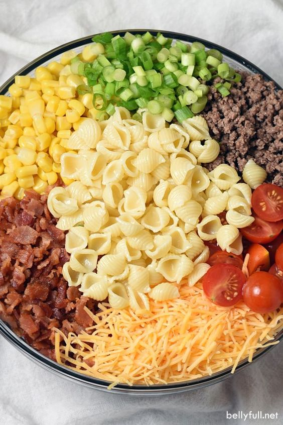 COWBOY PASTA SALAD #recipes #dinnerrecipes #quickdinnerrecipes #food #foodporn #healthy #yummy #instafood #foodie #delicious #dinner #breakfast #dessert #lunch #vegan #cake #eatclean #homemade #diet #healthyfood #cleaneating #foodstagram