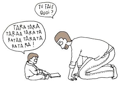 enfant bébé bavard