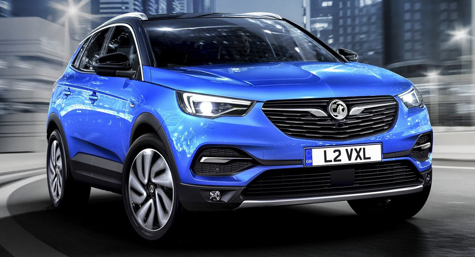 Vauxhall has a new large SUV called the Grandland X