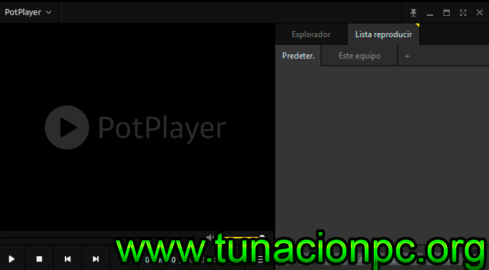 PotPlayer con Licencia
