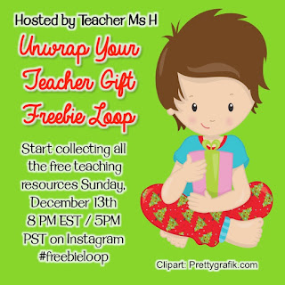 IG Monthly #teacherfreebieloop  #freebieloop