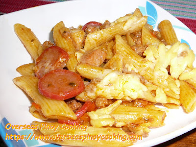 Pinoy Baked Penne Pasta