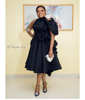 Funke Akindele Bello fashion and style looks
