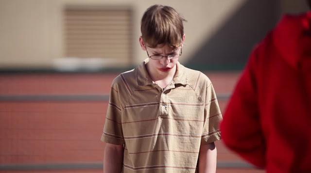 Alex em cena de Bullying, filme dirigido por Lee Hirsch.