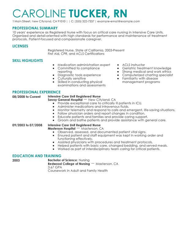 Head Nurse Resume Practitioner Resume Example, Nurse Manager Resume