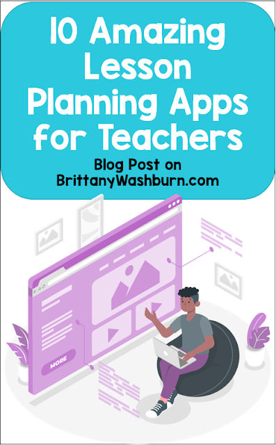 Lesson planning can be a pain...or it can be fun. Here are some lesson planning apps that make the process quick and simple.