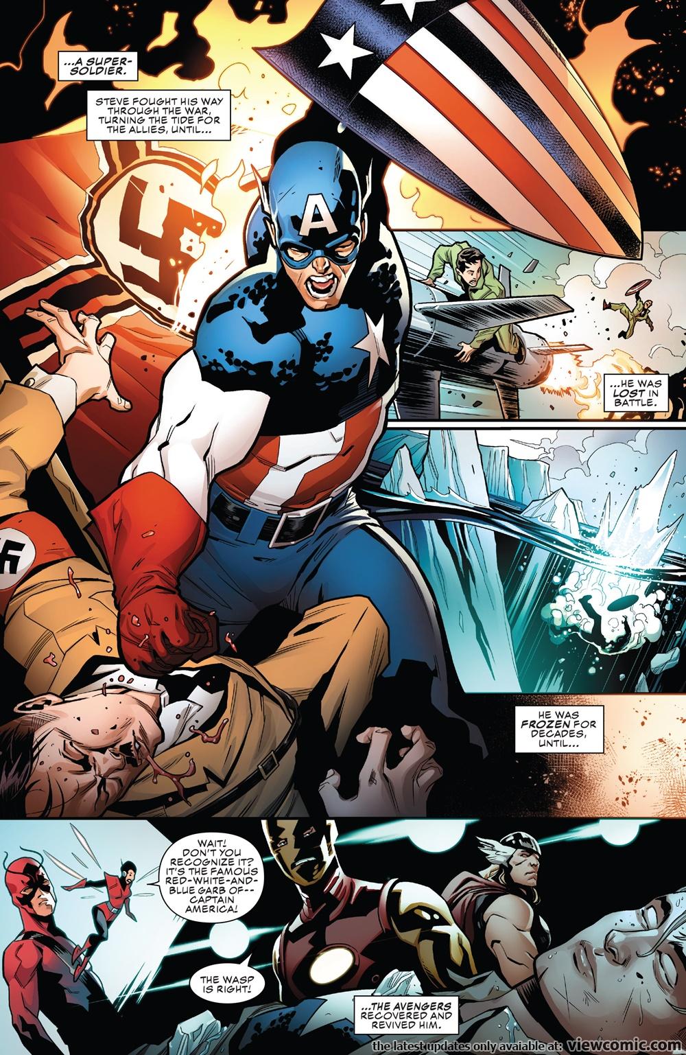 Captain America Online