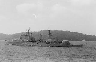 HMS Tiger Portland