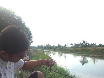 Gian Nak Mengail Ikan ?!!