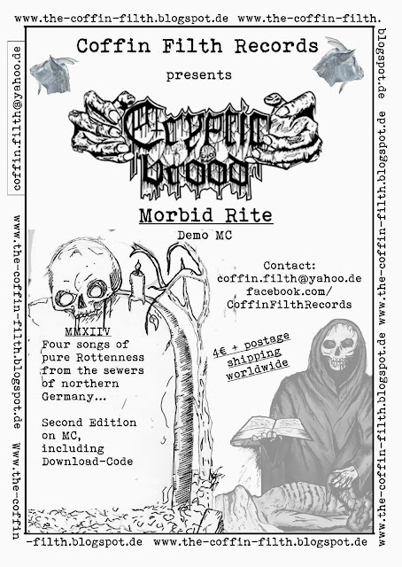 CRYPTIC BROOD - MORBID RITE MC - OUT NOW!