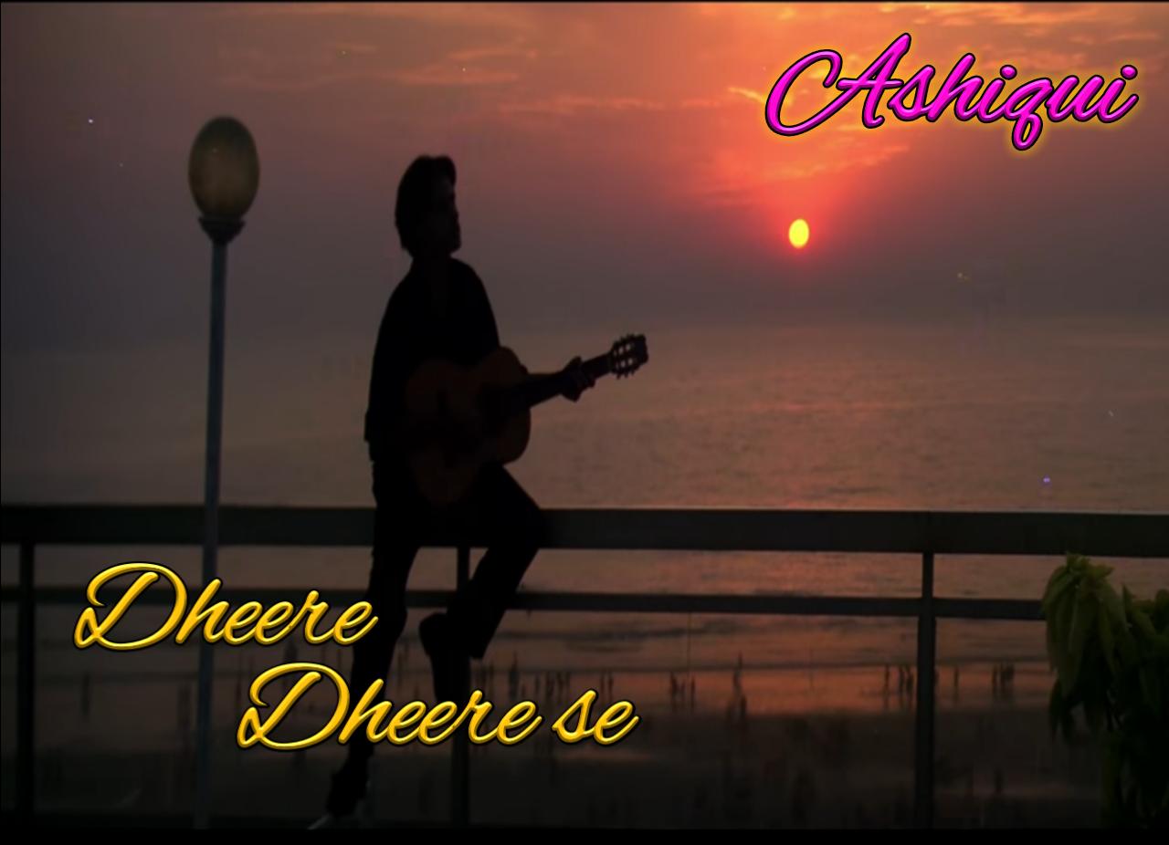 Dheere Dheere Se Meri Zindagi Mein Aana Guitar Chords Tgtutorials