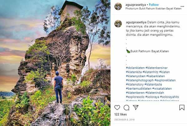 Tempat Wisata Photorium Bukit Patrum Bayat Klaten