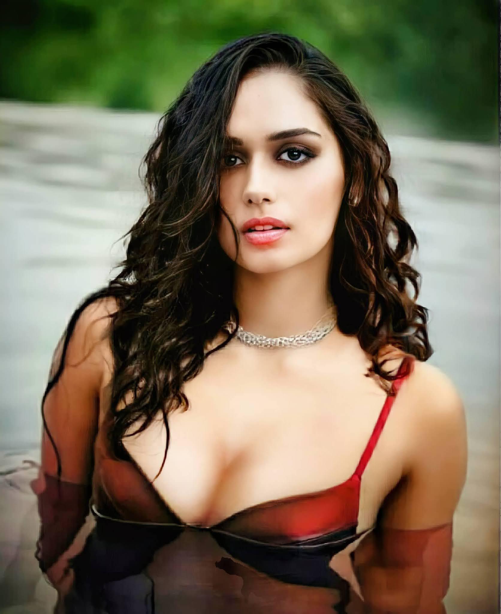 Manushi Chhillar Hot BikiniPhotos