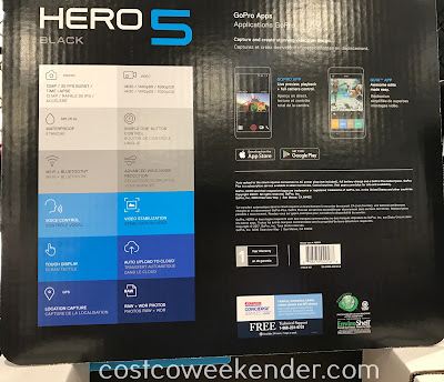 Costco 1185614 - GoPro Hero5 Black Action Camera Bundle: great for photographers or weekend warriors