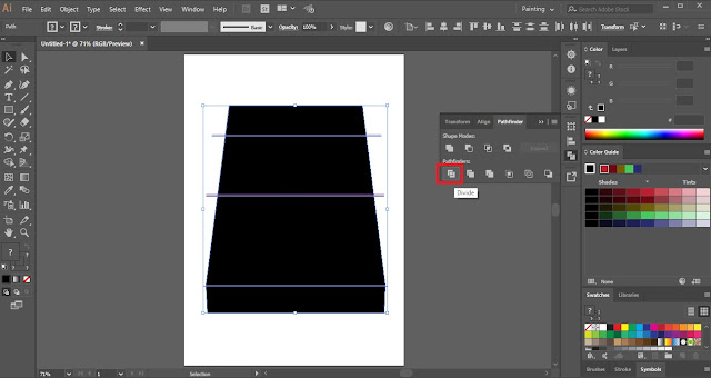 Wrap Text using Make with Top Object in Adobe Illustrator