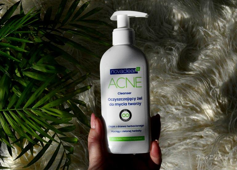 NovaClear ACNE Cleanser, Oczyszczający żel do mycia twarzy recenzja