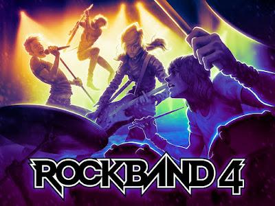 Rock Band 4, noticias de videojuegos