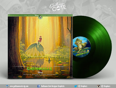 The Princess and the Frog vinyl album