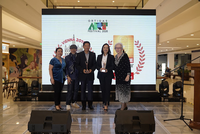 Ortigas Art Festival  recipient of Asia-Pacific Stevie Awards and International Business Awards 2019