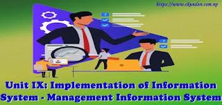 Implementation of Information System - Management Information System
