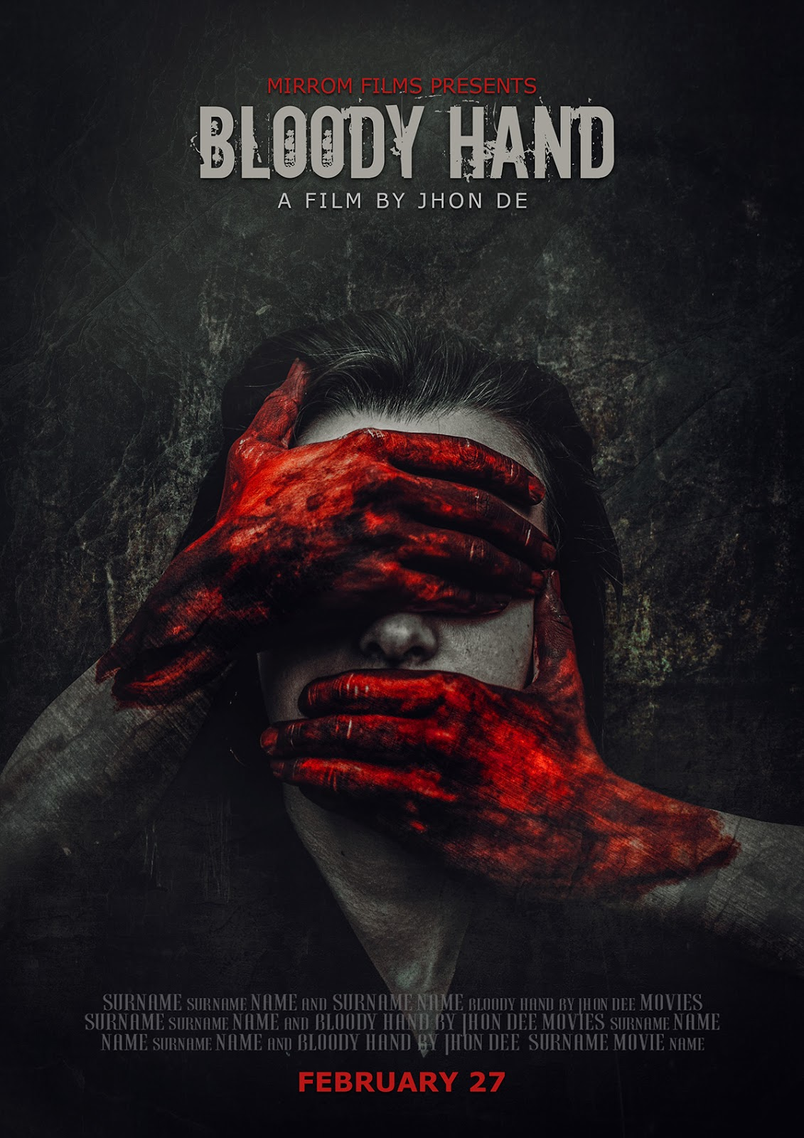 Concept Art Horror Movie Poster Photoshop Tutorial