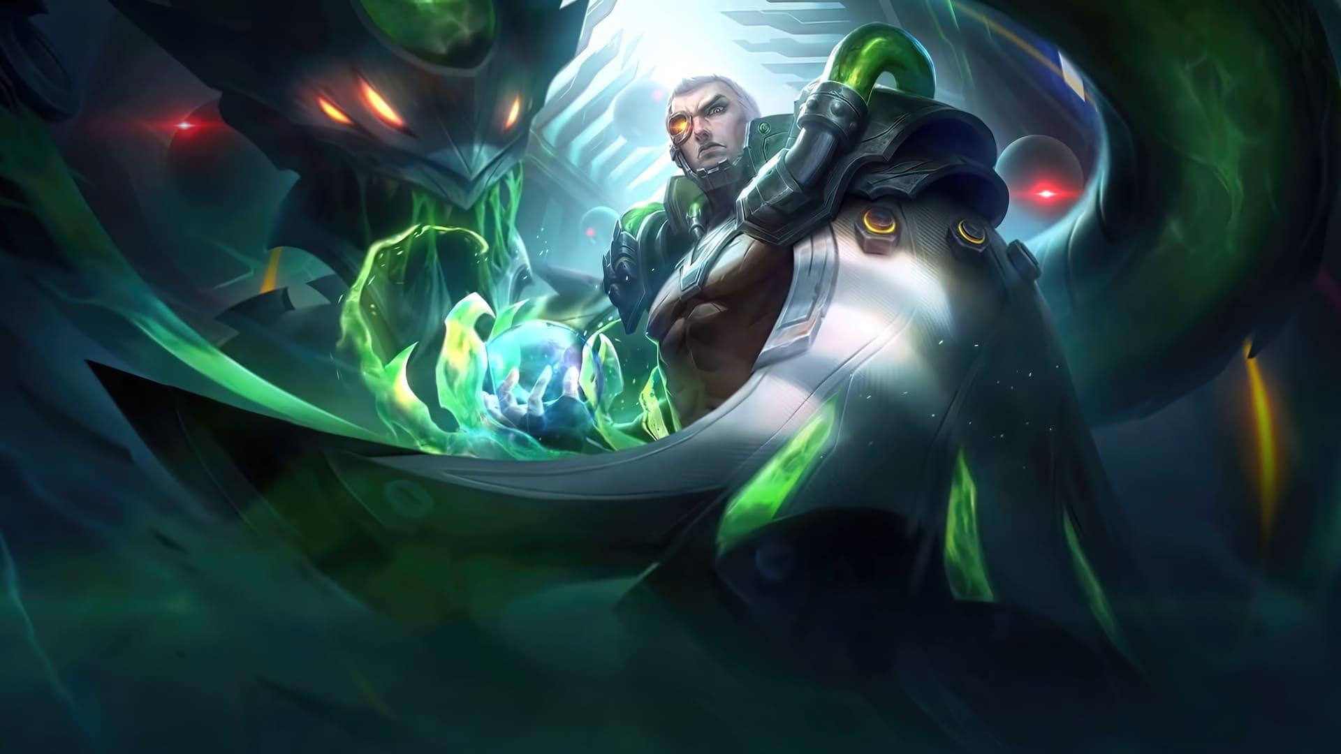 yu zhong biohazard mobile legends skin for PC hobigame