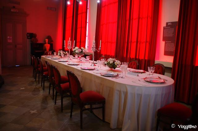 La Sala da Pranzo del Castello di Barolo