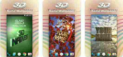 3D My Name Live Wallpaper