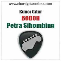 Chord Kunci Gitar Petra Sihombing Bodoh