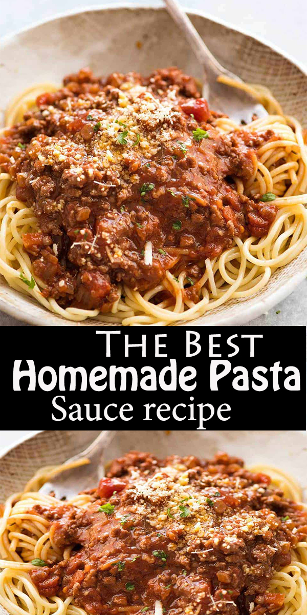 The Best Homemade Pasta Sauce #TheBest #Homemade #Pasta #Sauce #TheBest HomemadePastaSauce
