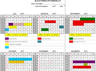 Download Kalender Pendidikan Tahun Ajaran 2017/2018 - File Guru Kita
