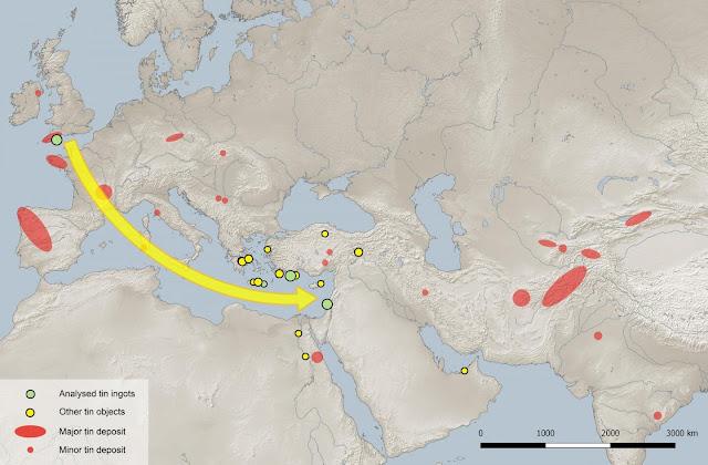 The enigma of Bronze Age tin