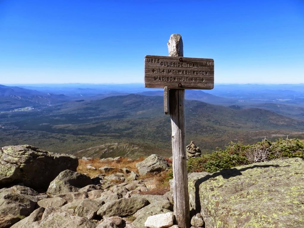 Jewell Trail Mt Washington Map.Mountain Wandering