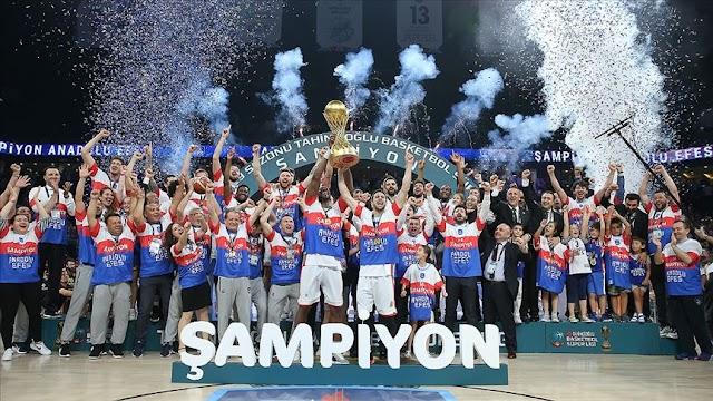 2021 Basketbol Avrupa Liginde Avrupa şampiyonu olan takım hangisidir?