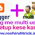Blog me multi user setup kese kare