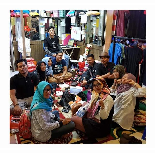 Saat jadi admin order di Tanah Abang, Jakarta