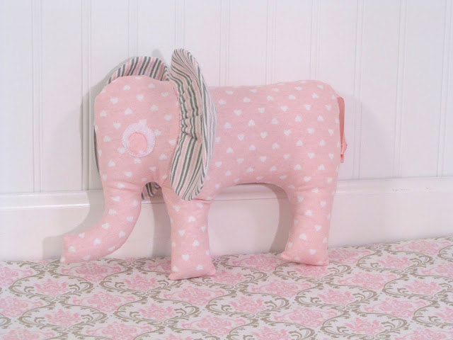 how to make a stuffed elephant for baby