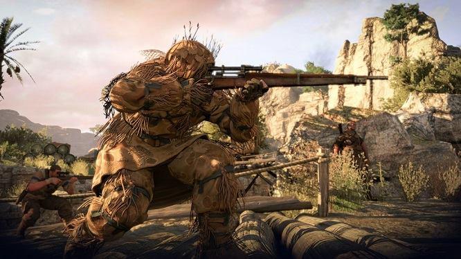sniper elite 4 game play
