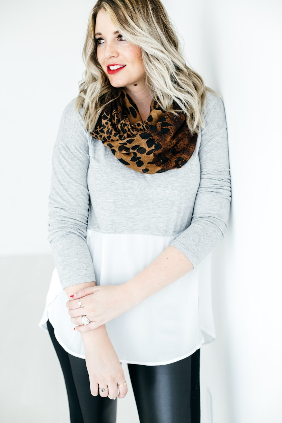 Leopard Scarf, Modest Outfit, Utah Fashion Blogger