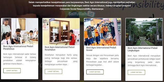 Lowongan Kerja Untuk Mengisi 10 Posisi di PT. Best Agro International Perkebunan Sawit Kalteng