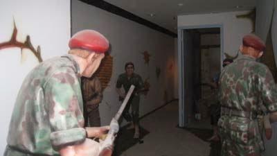 Patung Tentara Belanda di Museum Benteng Vredeburg Yogyakarta