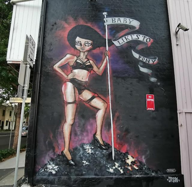 Street Art in Darlinghurst by Creon & Jodee Knowles